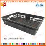 Da cesta plástica da modificação da fruta do supermercado caixa vegetal do recipiente do indicador (Zhtb8)