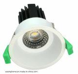 元の製造所9W~50Wのクリー族の穂軸によって引込められる天井LED Downlight