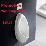 Ceramisch muur-Gehangen Urinoir 901 van de Uitverkoop