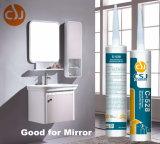 Aucune puate d'étanchéité adhésive de silicones de corrosion pour le miroir