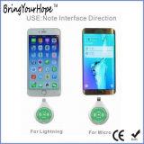 Тип-C приемник iPhone Android заряжателя пользы миниый двойной беспроволочный (XH-PB-051R2)