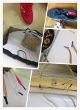 Rykl II elástico en espiral plástico Shoelace Shoelace/consejos/Zapato cordones elásticos plana Cable Tippping africanos de encaje de la máquina