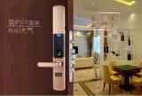 Латунный биометрический замок двери пароля замка двери квартиры доступа фингерпринта