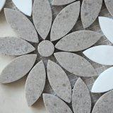 Decorazione all'ingrosso della parete della fabbrica la nuova è caduto mosaico artistico di pietra naturale