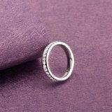 De gepersonaliseerde Ring van de Stijl van het Roestvrij staal Glanzende Nieuwe voor Vrouwen