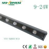 luz al aire libre de la arandela de la pared de 9W LED para la iluminación de la configuración