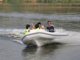 Liya 4.3m Fiberglas-bewegliches Fischerboot-aufblasbares Rippen-Luxuxboot