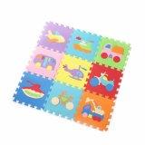Le jeu de couvre-tapis de puzzle de couvre-tapis de mousse d'EVA couvre de tuiles le certificat de la CE