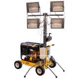 4*400W Générateur Diesel Tour Mobile d'éclairage
