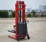 2,0 tonne 1,6 m, 2m, 2,5 m, 3m de hauteur de levage gerbeur électrique