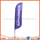 Реклама баннер-слезники флага для установки вне помещений