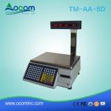 TM-AA-5D печать штрих-кодов вес электронные весы