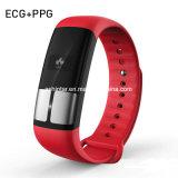 Horloge van de Armband ECG van de Bloeddruk van de Monitor van het Tarief van het hart het Hoge Nauwkeurige Slimme