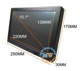入るUSB HDMI DVI VGAが付いている10.1インチのタッチ画面LCDのモニタ(MW-102MBT)