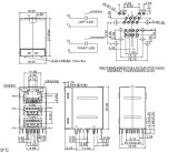 RJ45 verdoppeln Verbinder USB-2.0 /3.0 90 Grad