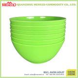 De beste Verkopende Vrije Stevige Kommen van het Graangewas van de Melamine van de Kleur BPA