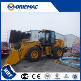 XCMG 5 toneladas de pá carregadeira de rodas dianteira e compacto