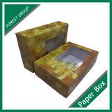 Коробка оптовой изготовленный на заказ вишни плодоовощ упаковывая с ясным окном