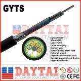 Antenna di GYTS & condotto 12 24 48 esterni cavo ottico della fibra di 96 memorie
