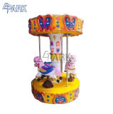 3 sièges merry go round Mini Carrousel Machine de jeu