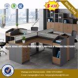 3 sièges forme de L'Office de station de travail du personnel de cluster de partition (HX-8N2629)