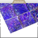 Кобальт Iridescent переработки стеклянной мозаики на кухне Мозаичное оформление