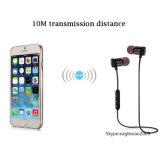 Auricular estéreo de carga de Bluetooth del cable del USB en oído con el embalaje del rectángulo de regalo