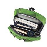 Moderner grüner Tarnung-Rucksack-einfacher Schule-Beutel