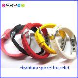 Energien-Ionenausgleich-Titangermanium-Armbänder für Männer und Frauen