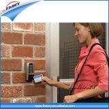Whoelsale personalizou o cartão programável Matte plástico da listra magnética de /Frosted RFID para o hotel Key