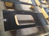Absoulte черного гранита мойки Кухонные мойки рабочую поверхность верхней панели