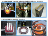 Máquina de aquecimento por indução para tubo tubo de Solda brasagem atráse a roda e a lâmina da serra Aquecimento e Soldagem
