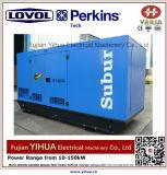 50kw/62.5kVA stille Diesel die Generator door Lovol-Perkins Engine-20171012j wordt aangedreven