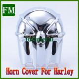 Tampa da Buzina de cranio cromado para '92-'13 Harley