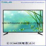 """16:9 super dünnen UHD 4K LED Fernsehapparat-49 """" breiter Bildschirm eine Grad-Panel-Wand-Montierung"""