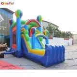 Kasteel van de Verbindingsdraad van de ballon het Opblaasbare met het Opblaasbare Kasteel Bouncy van de Dia