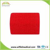 中国の製造業者の凝集の覆いの自己接着伸縮性がある包帯