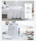 最上質の柔らかいタケファイバーのホテルのキルト毛布