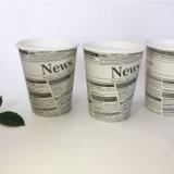 8 унции одной стене чашки кофе бумаги с возможностью горячей замены