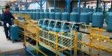 линия машина изготавливания баллона 15kg LPG испытание утечки производственных оборудований тела