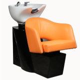 주황색 Gauffer 샴푸 단위 살롱 이발사 머리 세척 의자