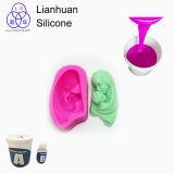 비누 장난감 형 만들기를 위한 중국 RTV-2 실리콘고무