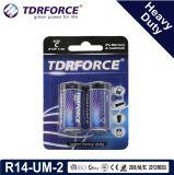 China-Fabrik-Supertrockene Hochleistungsbatterie für Rauch Detetor (LR14-C Größe-SIND 2)