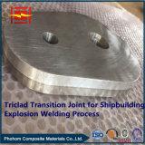 중국 공장 열교환기를 위한 알루미늄 스테인리스 강철 저온 전환 합동