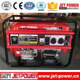 Generator-Set-Rückzug des Benzin-4.5kw/elektrischer Anfangstreibstoff-Generator