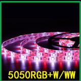 RGBW/Cwの多彩な/4カラーLED屈曲のストリップ5050チップ12V/Waterproof
