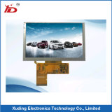 4,3 inches of resolution 480*272 TFT LCD screen with Capacitive Touch panel