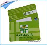 carnet de socio transparente sin contacto de 13.56MHz NFC IC