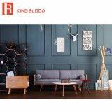 Nordische europäische Art-Abbildungen der hölzernes Sofa-gesetzten Entwürfe für Salon