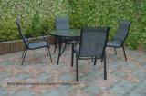 Cadeira 4PC de vime com jogos ao ar livre do sofá do coxim com mesa de centro (TG-218)